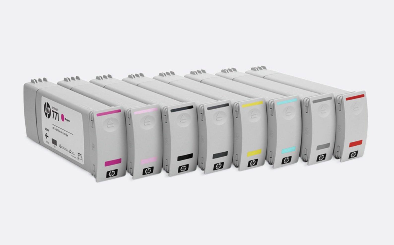Cartuchos de Tinta HP 771 da HP Z6200