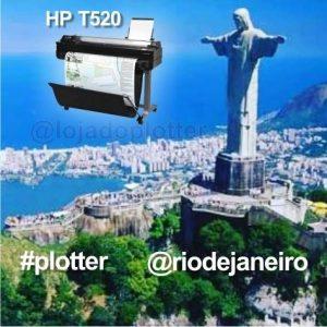 Plotter HP Designjet T520 - Mais uma no Rio de Janeiro RJ