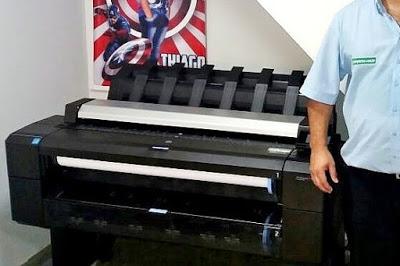 Plotter HP Design T2530 Multifuncional em Mauá São Paulo. Impressora, Copiadora e Scanner de grande Formato, até tamanho A0