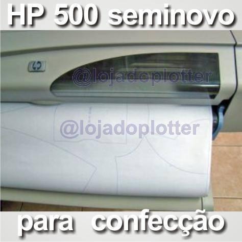 Plotter usada Para Confecção - Impressão de Moldes