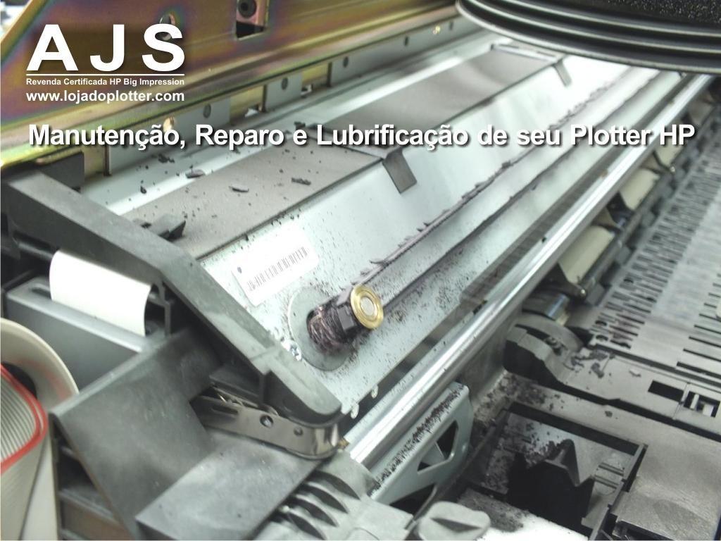 manutencao preventiva conserto e reparo impressora plotter HP