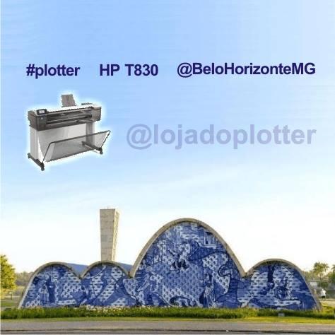 Multifuncional de Grande Formato HP Designjet T830