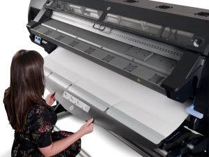 Na Série HP Latex você pode imprimir até tecidos !