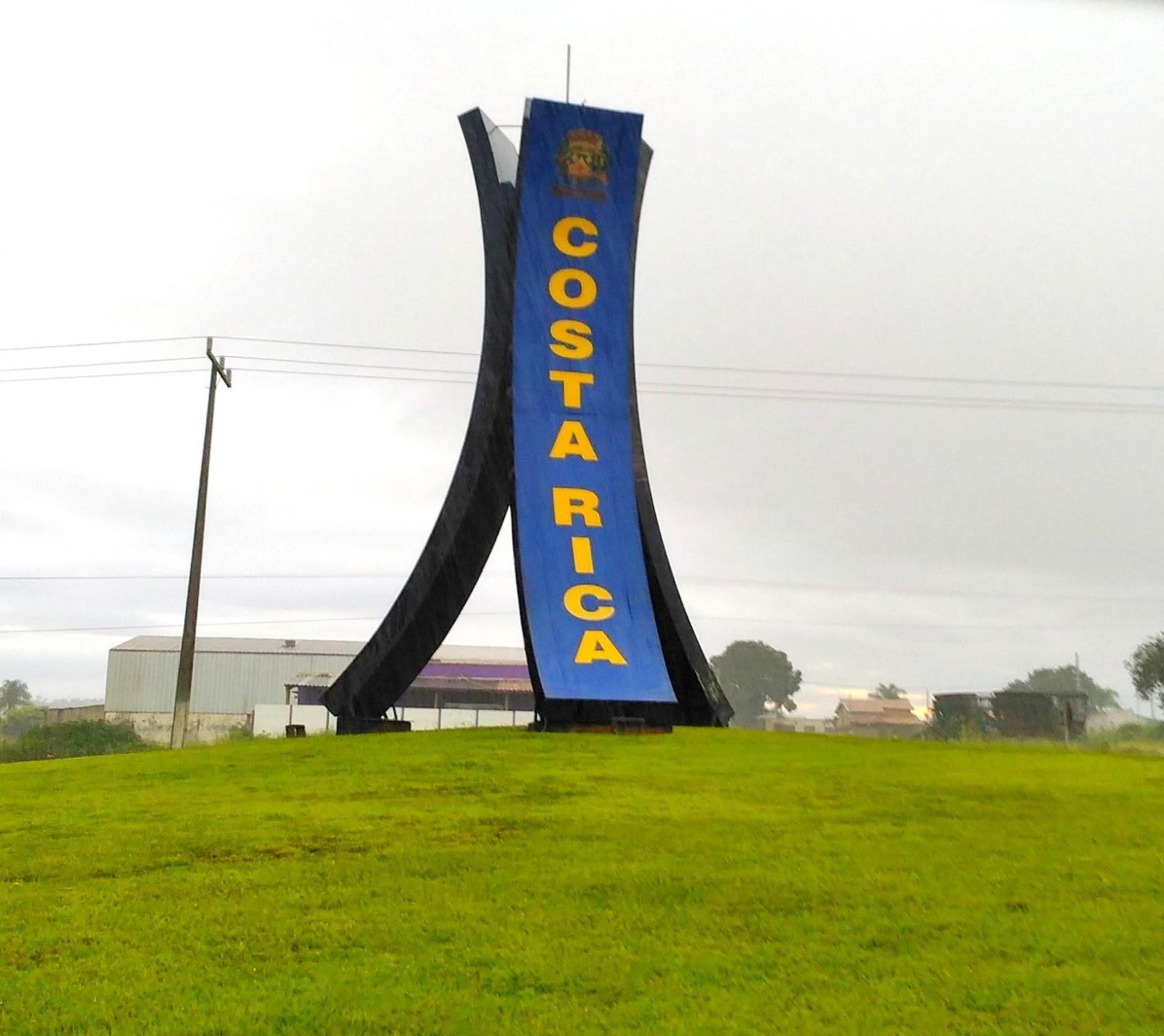 Cidade de Costa Rica no Mato Grosso do Sul recebeu uma impressora HP T730