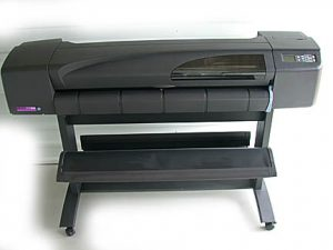 Plotter HP Designjet 800 seminova vendida pela Loja do Plotter