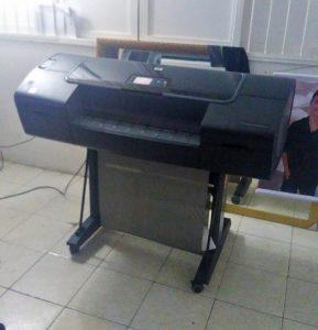 Plotter HP Seminovo vendido na Cidade de Cataguases em Minas Gerais
