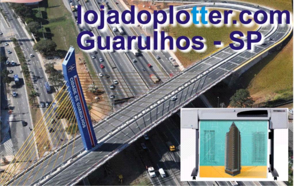 Impressoras HP de Grande Formato, Plotter, Cartuchos de Tinta, cabeçotes de Impressão em Guarulhos e Região