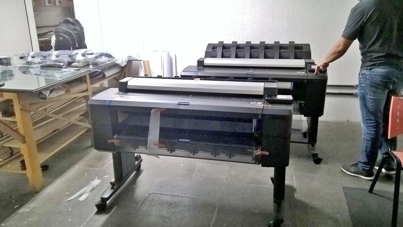 A Loja do Plotter entregou um segundo Multifunção plotter HP Designjet T2530eMFP em Belo Horizonte - MG
