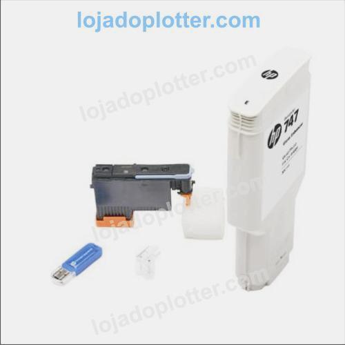 Cartucho Otimizador de Brilho Impressoras Fotográficas de Grande Formato Plotter HP Designjet Z9 PostScript, Plotter HP Designjet Z6