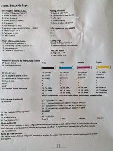Extrato de utilização da Plotter Seminova em Minas Gerais