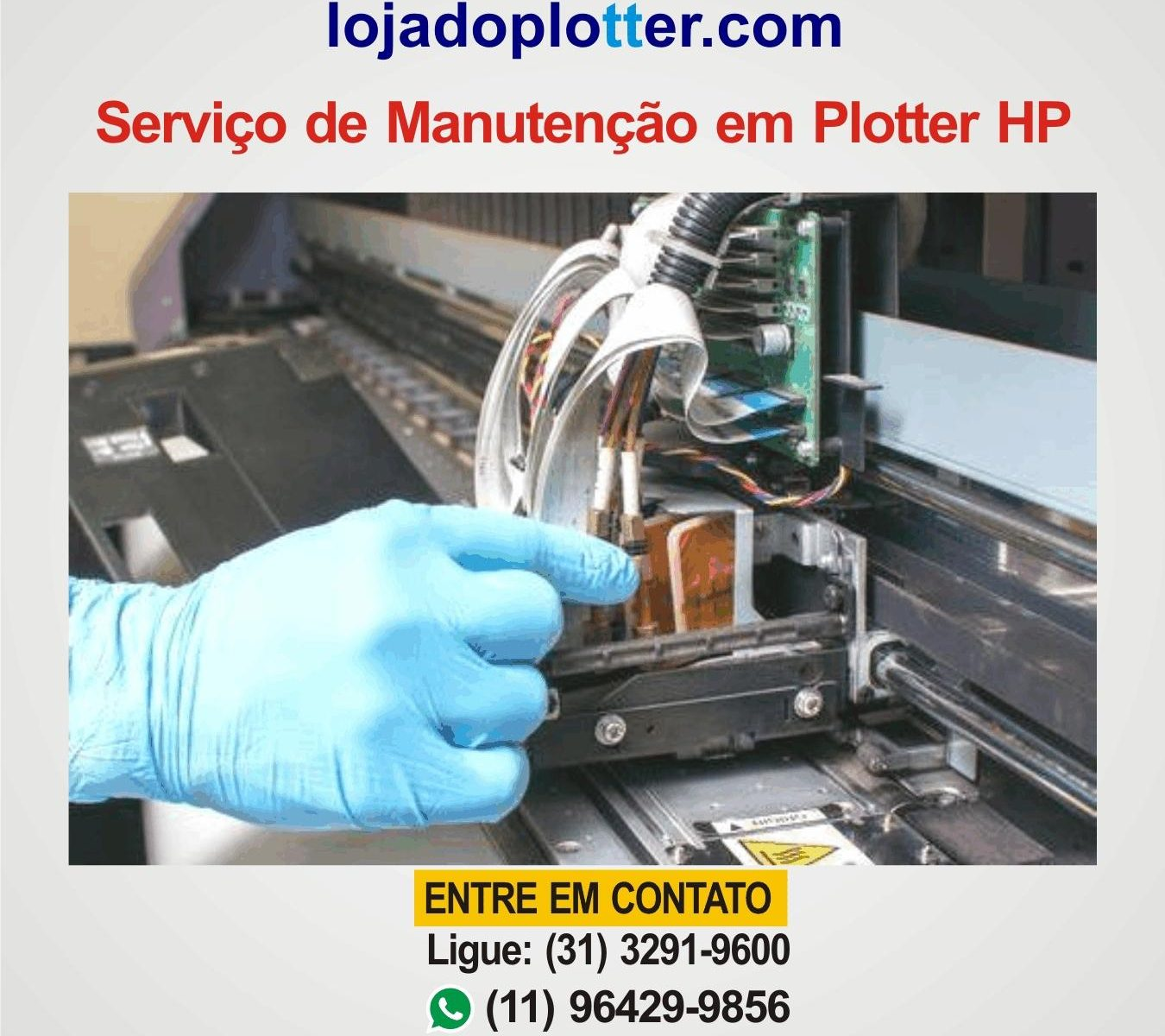 Manutencao Reparo Conserto Plotter HP