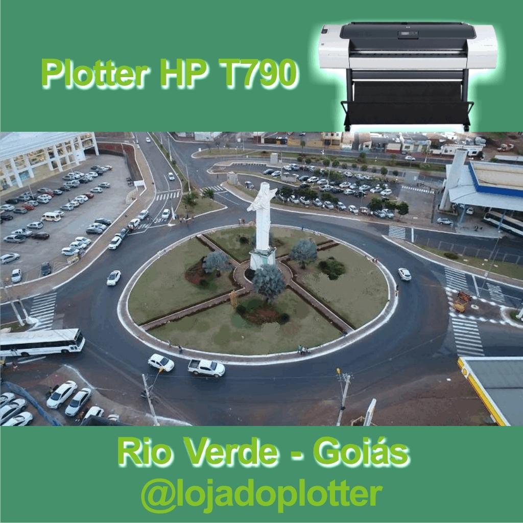 Plotter HP Usada vendida em Goiás pela Loja do Plotter