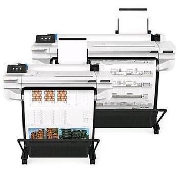 pressora Plotter HP Designjet T530 formato A1 e formato A0