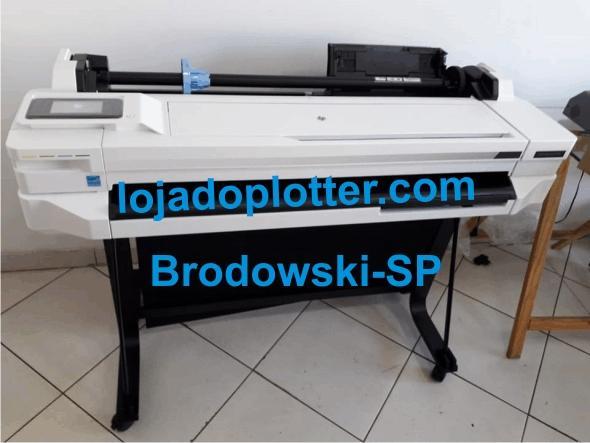 Plotter HP T530 já Montada e Instalada em Brodowski-SP