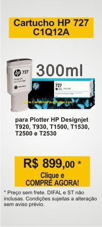 Promoção Cartucho HP 727 de 300ml