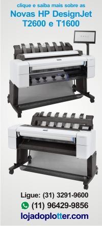 Clique e saiba tudo sobre a nova HP DesignJet T1600 (sucessora da HP T930 e da HP T1530) e sobre a nova HP T2600 (sucessora da HP T2530)