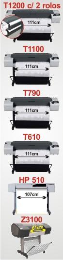 Plotter Usada! Totalmente revisada e com garantia de  procedência! Compre agora sua impressora de grande formato Plotter Seminovo HP T1100, HP T790, HP T770, HP T610, HP 510 e HP Z3100 fotográfica, revisados e com garantia de procedência! Otima oportunidade em Plotter Usado
