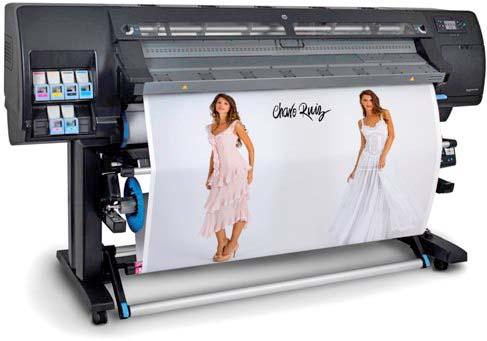 Impressora HP Látex 260 (antiga Plotter HP tinta Latex Designjet L26500)