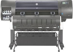 Com a impressora Plotter HP T7200 Imprima 4 páginas A1 por minuto.  Equipamento com 2 rolos de grande comprimento e Terceiro Rolo opcional. fcb322f5a3