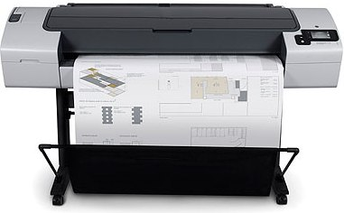 eImpressora Plotter HP Designjet T790
