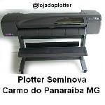 Plotter Seminova HP Designjet 800 em Carmo do Parana�ba MG